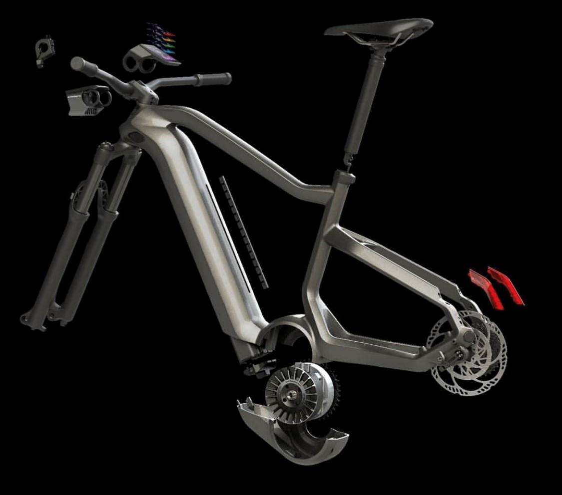 e-bike con el motor más potente 2020
